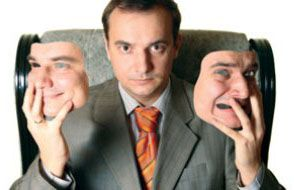 valeurs d'entreprise - schizophrenie